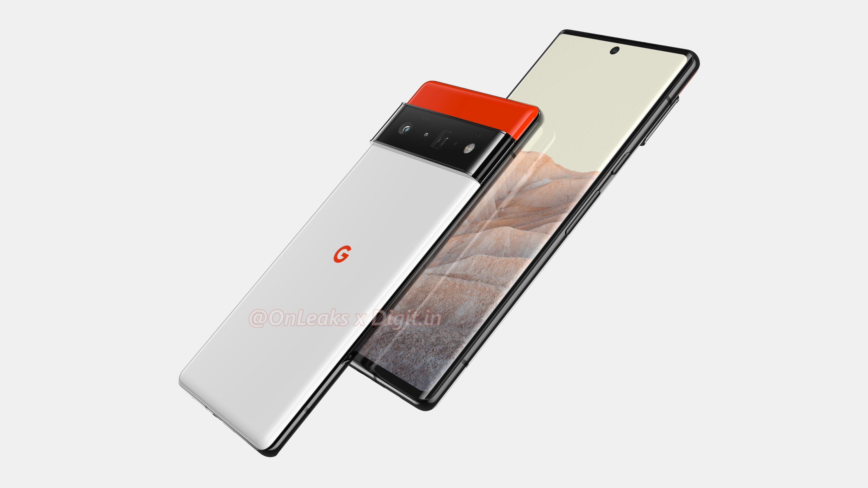 Google Pixel 6 Pro Rendering