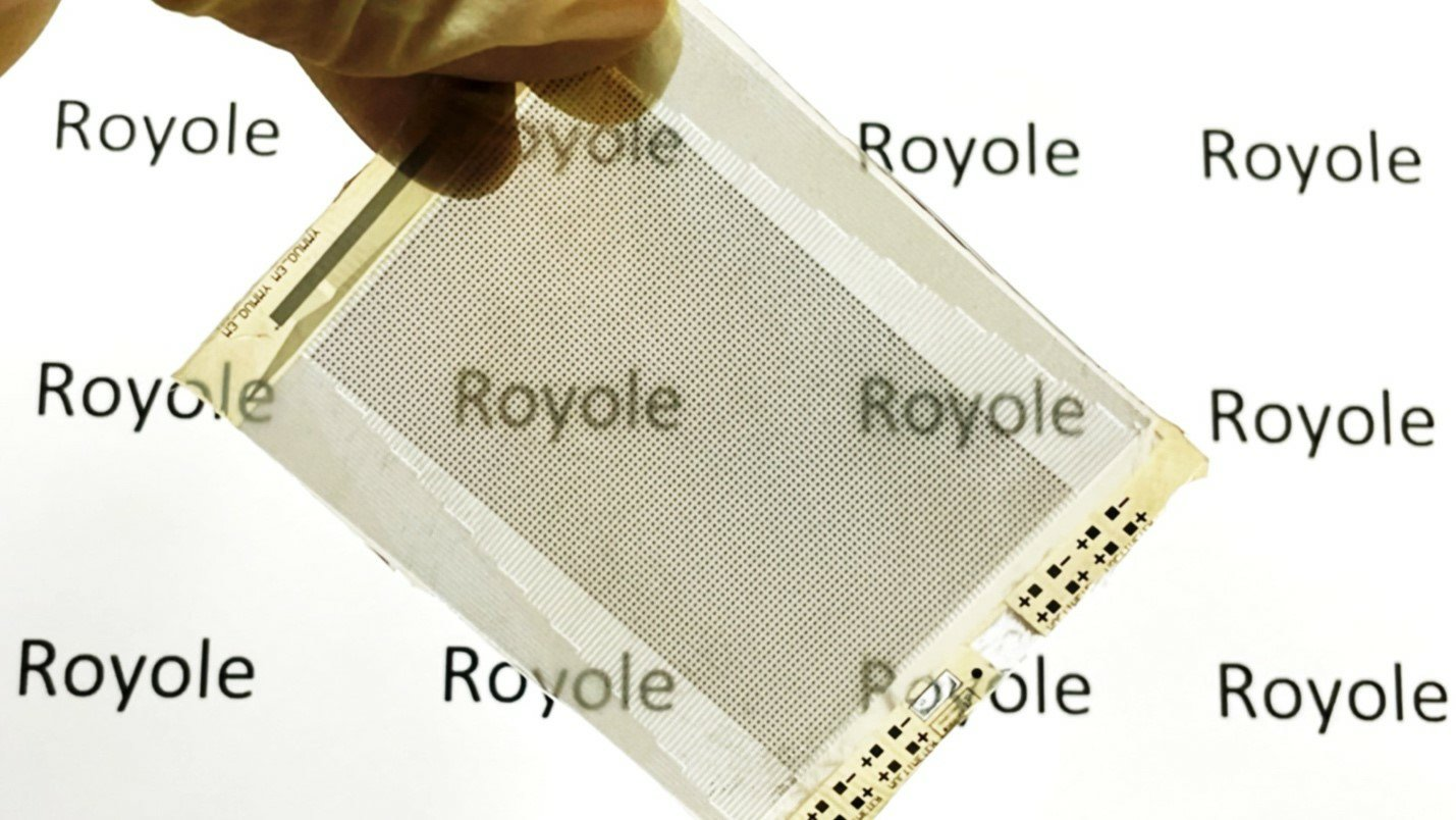 Royole stretchable display technology