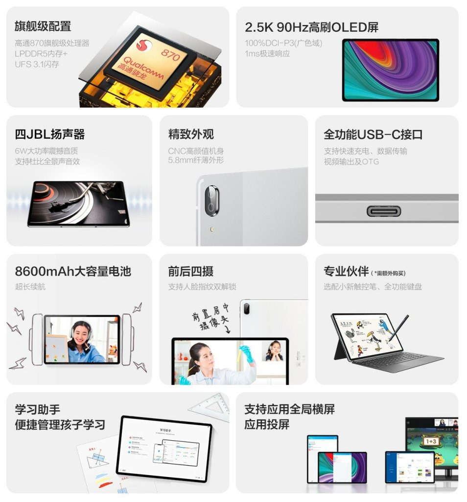 Xiaoxin Pad Pro 2021