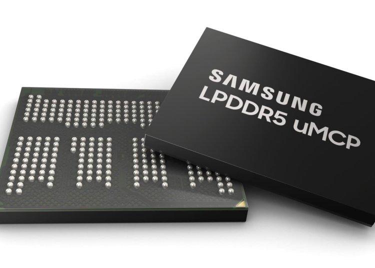Samsung uMCP LPDDR5 and UFS 3.1 NAND, LPDDR5 uMCP