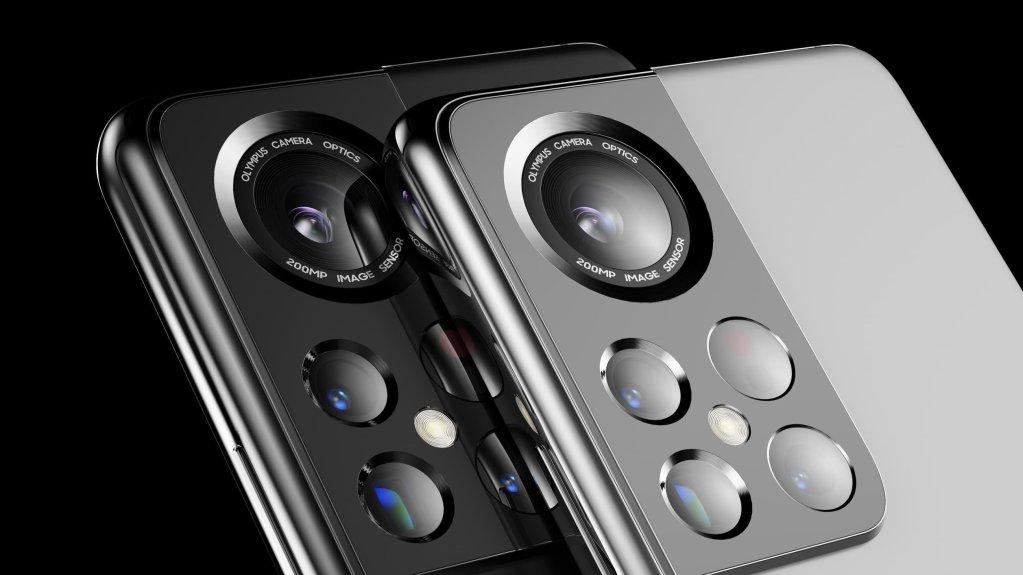 Samsung Galaxy S22 Ultra Concept Rendering