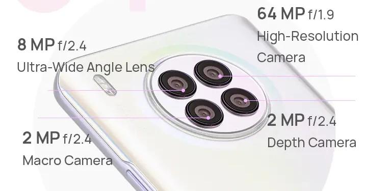 Huawei Nova 8i camera
