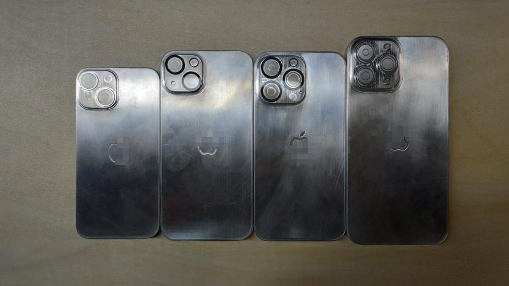 iPhone 13 Series molds of all four models