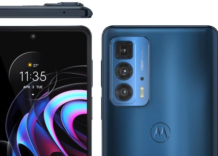 Motorola Edge 20 Pro Official Rendering