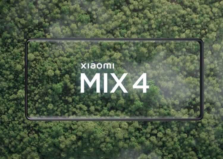 Xiaomi Mix 4 Teaser