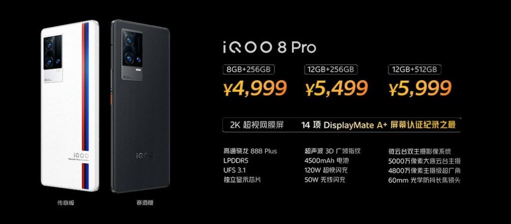 iQOO 8 Pro Price