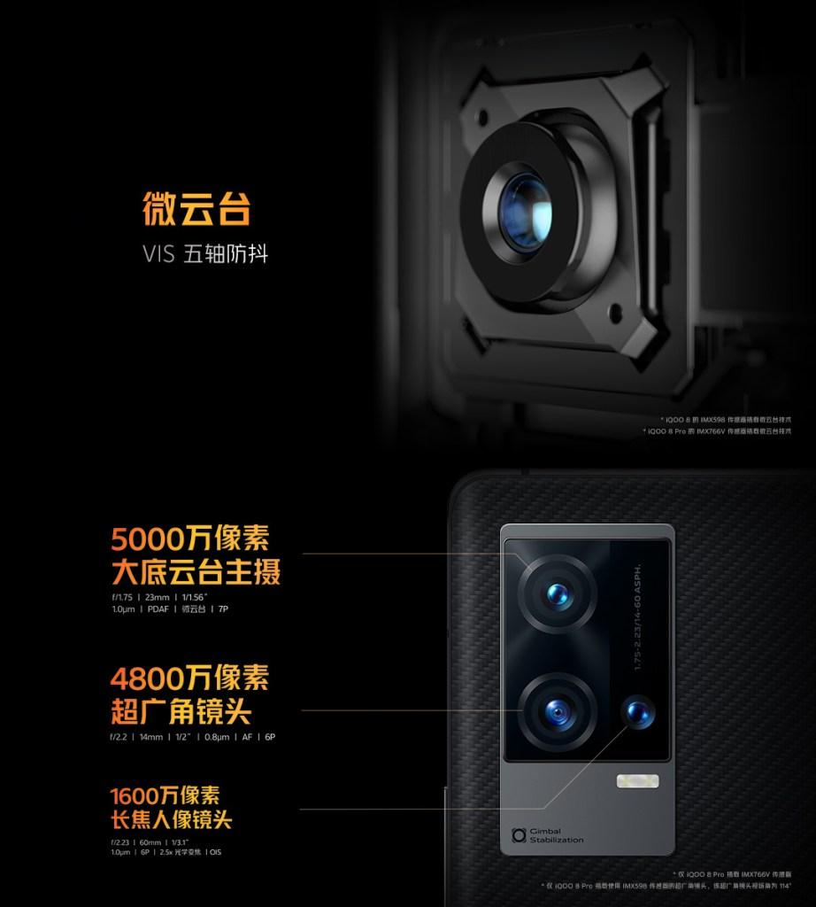 iQOO 8 Pro Camera