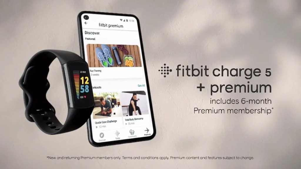 Fitbit Charge 5 Promotional Video