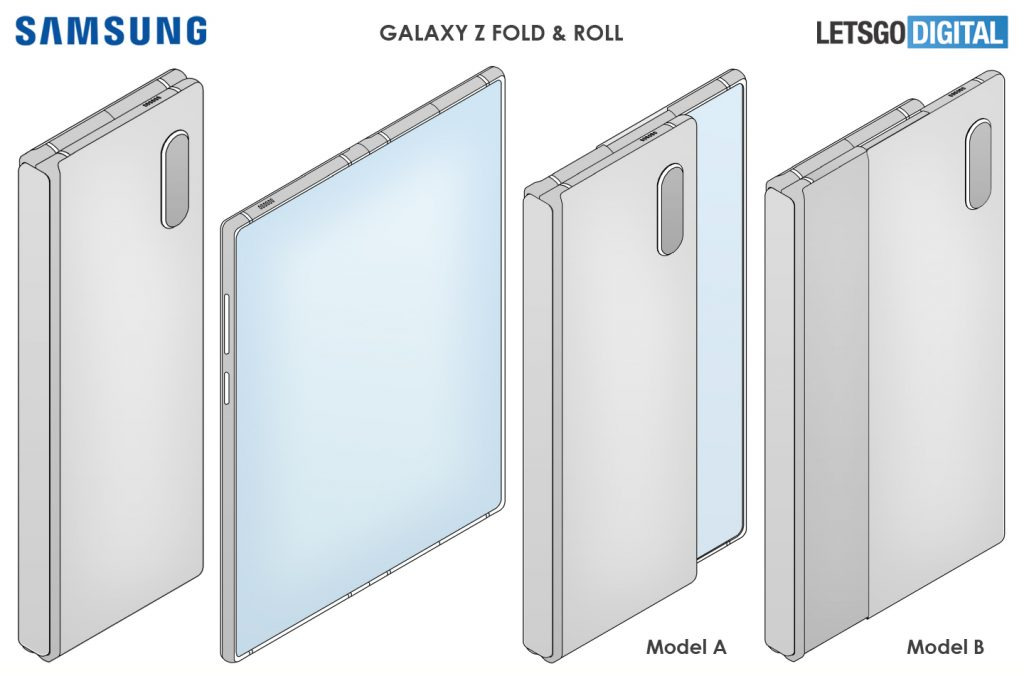 Samsung Foldable And Rollable Display
