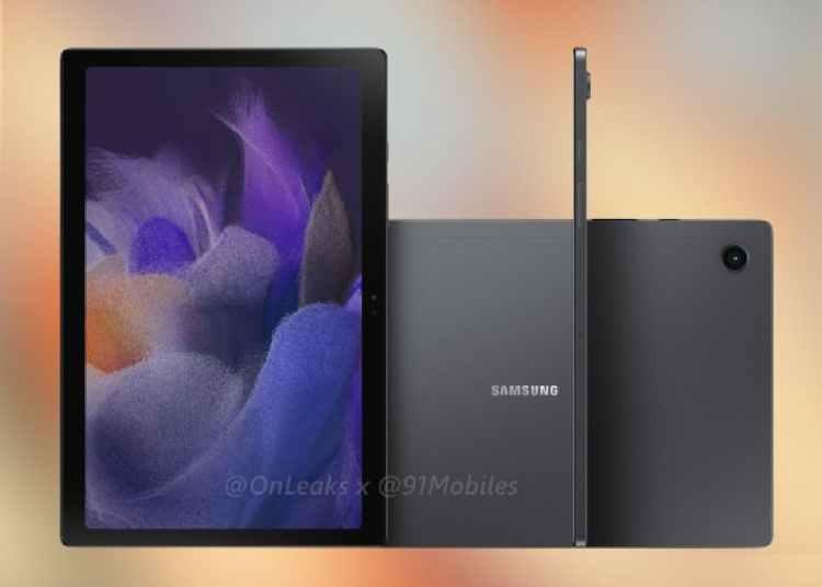 Samsung Galaxy Tab A8 2021 Renderings