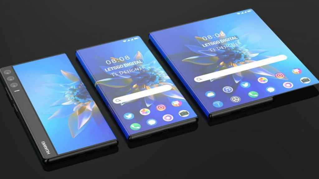 Huawei Mate X Rollable Concept Video