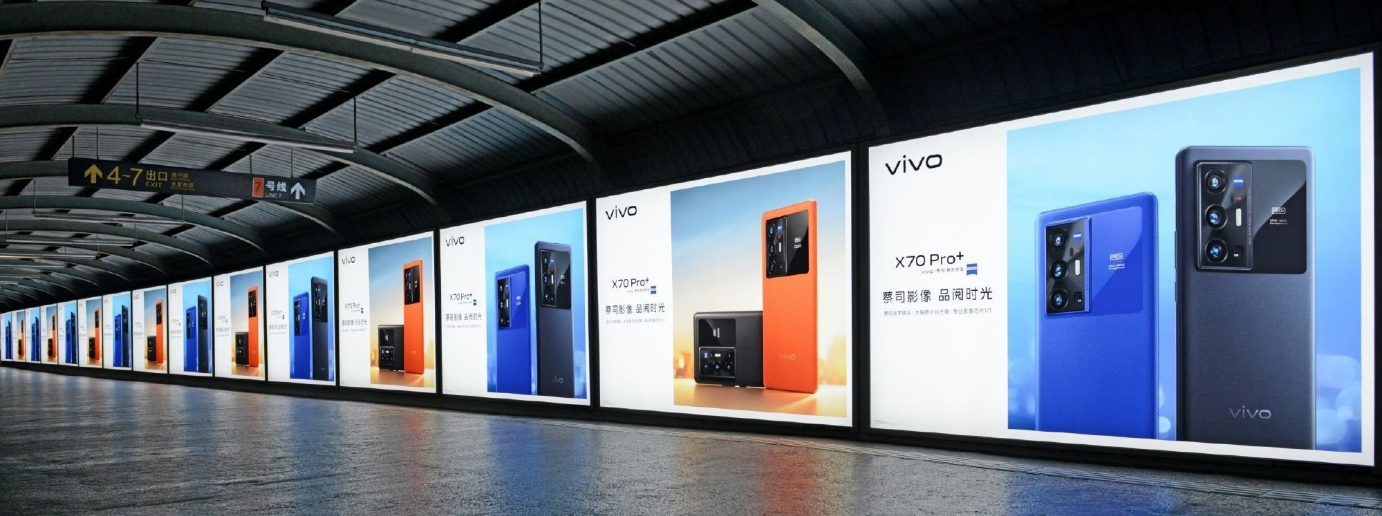 Vivo X70 Pro Plus Blue Color