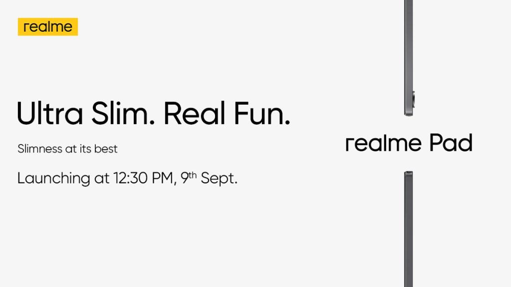 Realme Pad Slim Teased