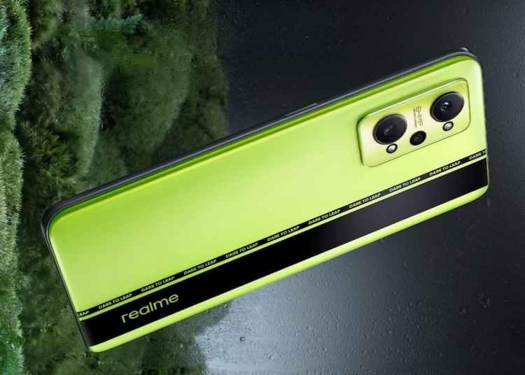 Realme GT Neo2 BlackMint Color