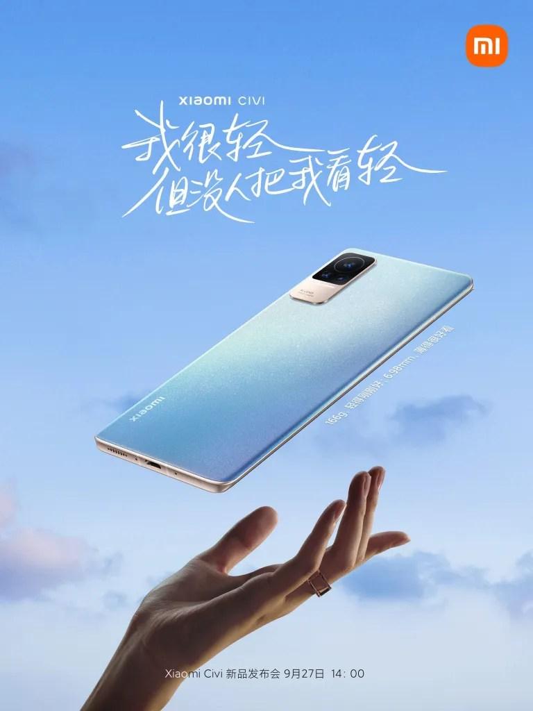 Xiaomi CIVI Promotional Material