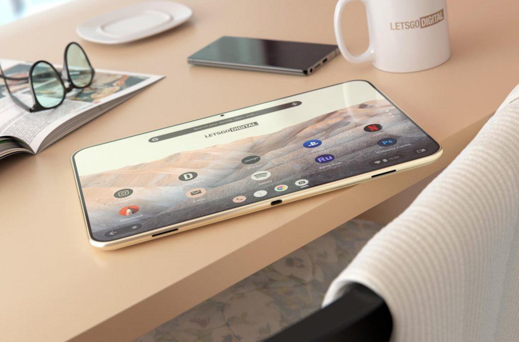 Google Pixel Tablet Renderings
