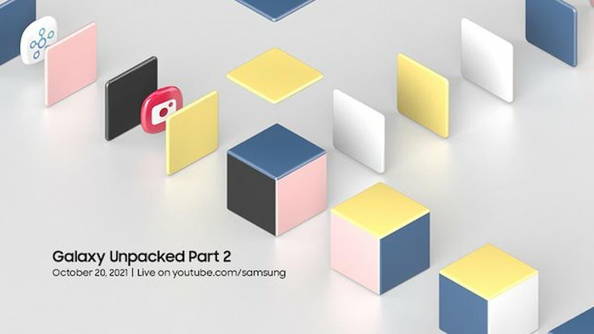 Samsung Galaxy Unpacked Part 2 Event