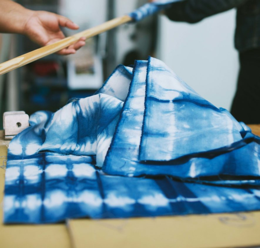 Skills training – Shibori Textile Techniques