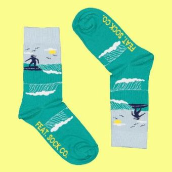 Surfing Socks – Ladies size 4-7