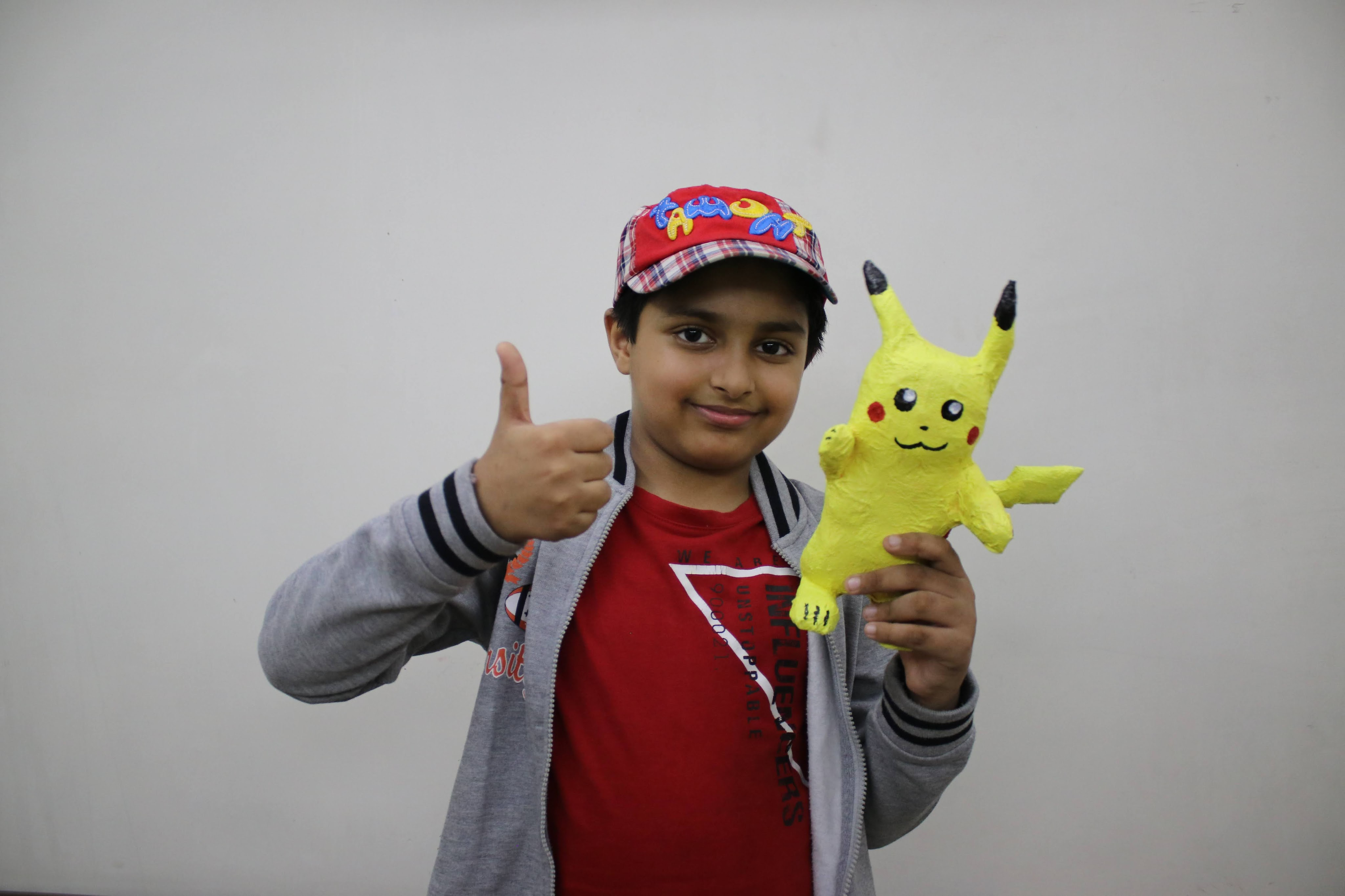 Pikachu Toy made with Paper