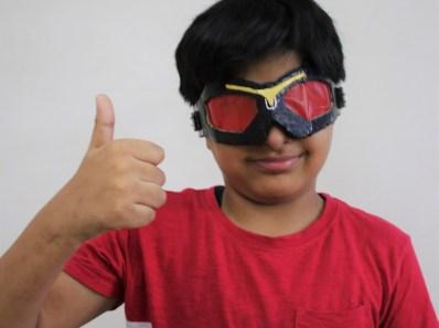 Avengers falcon goggles