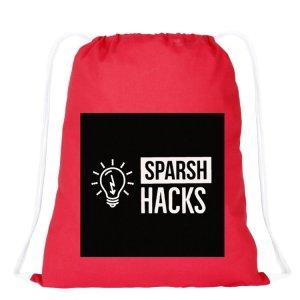 Sparsh Hacks Bag