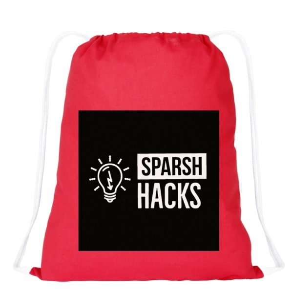 Sparsh Hacks Bag
