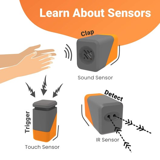 How to use sensors in robots
