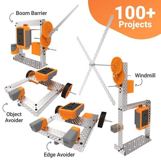 Robots idea using Avishkaar Robotics Kit