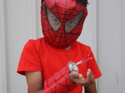 how to make spider man web shooter
