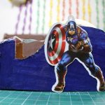 Captain America Helmet Mask DIY