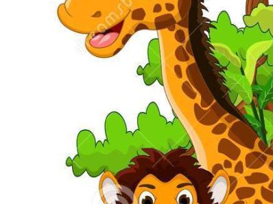 jungle scene cartoon