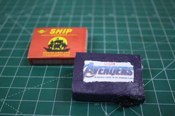 Homemade Avengers Badge