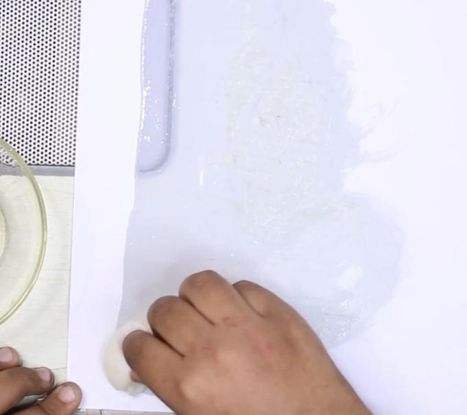 Homemade paper soap