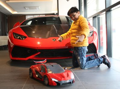 How to make a paper car scale model Mclaren P1