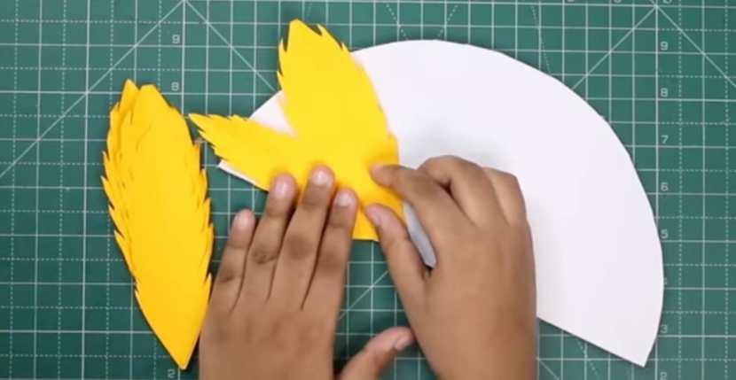 adding feathers
