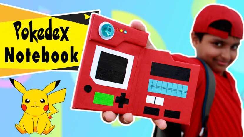 Pokédex notebook