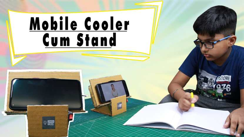 mobile stand with cooler