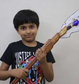 loki's scepter with mind stone