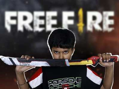 free fire cobra katana sword