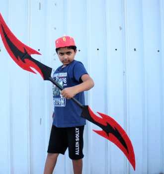 boboiboy thunder lighting sword
