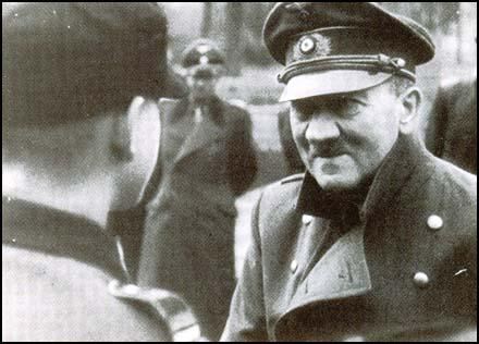 Image result for photo of Adolf Hitler in 1945
