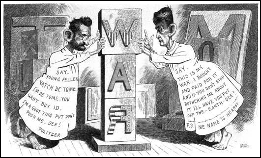 Cartoon White British American Fight And And Black Pictures