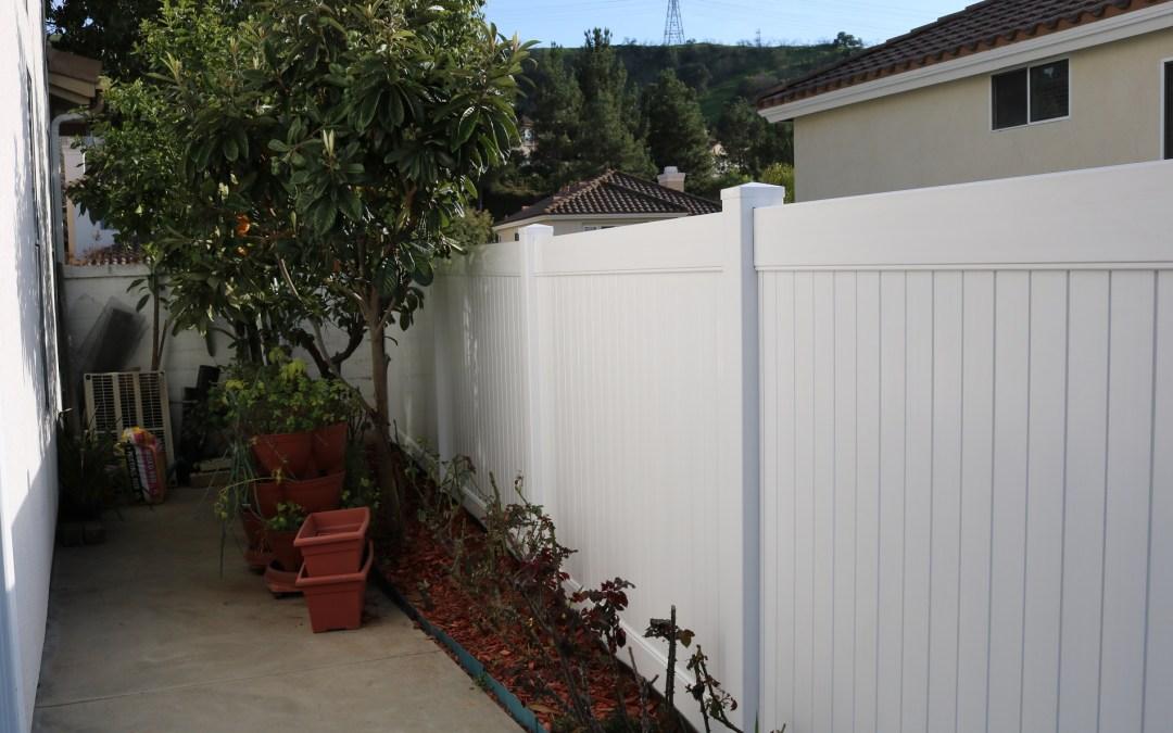 Vinyl Fencing  2
