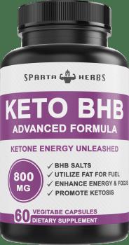 keto bhb salts бета хидроксибутират кетоза екзогенни кетони sparta herbs