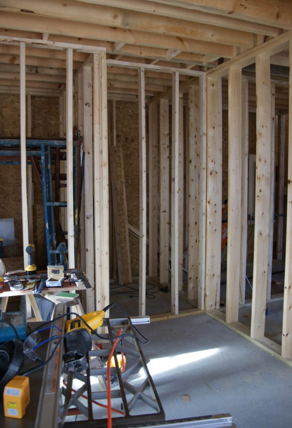 Frame Walls for Refrigerator