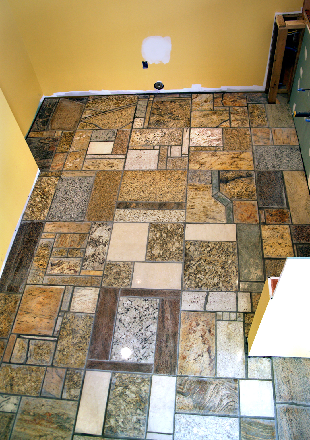 Mosaik Granit Granite Counter Top Scrap Floor Pictures Design