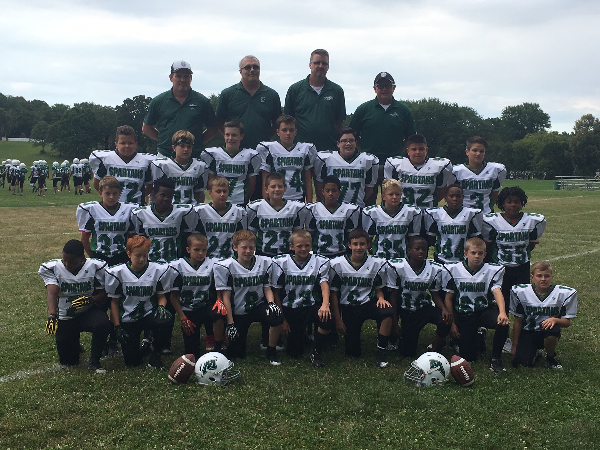 Spartans Youth Football  Camps