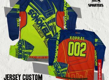 Jersey Custom Sepaket Buff Min