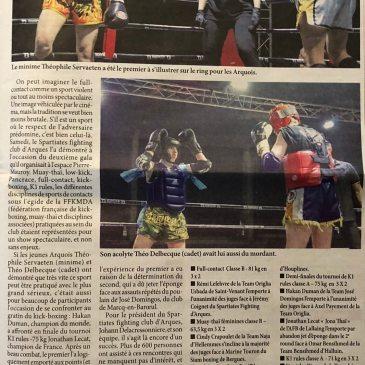 Spart'Fight 2 : la presse en parle…